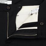 Мужские брюки Universal Works Aston Flannel Black фото- 2