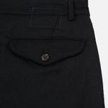 Мужские брюки Universal Works Aston Flannel Black фото- 4