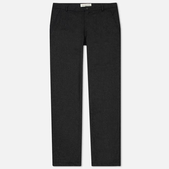 Мужские брюки Universal Works Aston Flannel Charcoal