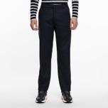 Мужские брюки Universal Works Aston Flannel Navy фото- 5