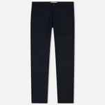 Мужские брюки Universal Works Aston Flannel Navy фото- 0