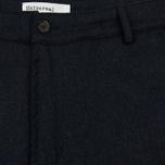 Мужские брюки Universal Works Aston Flannel Navy фото- 1