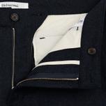 Мужские брюки Universal Works Aston Flannel Navy фото- 2