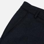 Мужские брюки Universal Works Aston Flannel Navy фото- 3