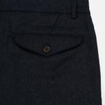 Мужские брюки Universal Works Aston Flannel Navy фото- 4