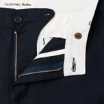 Мужские брюки Universal Works Aston Gaberdine Navy фото- 1
