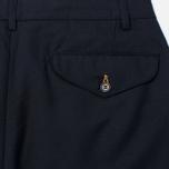 Мужские брюки Universal Works Aston Gaberdine Navy фото- 3