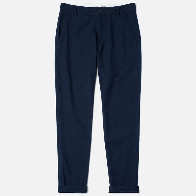 Мужские брюки Universal Works Aston Panama Cotton Navy