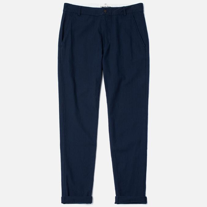 Universal Works Aston Panama Cotton Men's Trousers Navy