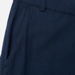 Universal Works Aston Panama Cotton Men's Trousers Navy photo- 1