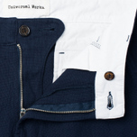 Мужские брюки Universal Works Aston Panama Cotton Navy фото- 2