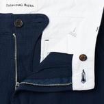 Universal Works Aston Panama Cotton Men's Trousers Navy photo- 2