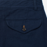 Universal Works Aston Panama Cotton Men's Trousers Navy photo- 3