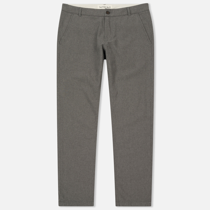 Мужские брюки Universal Works Aston Texture Cotton Grey