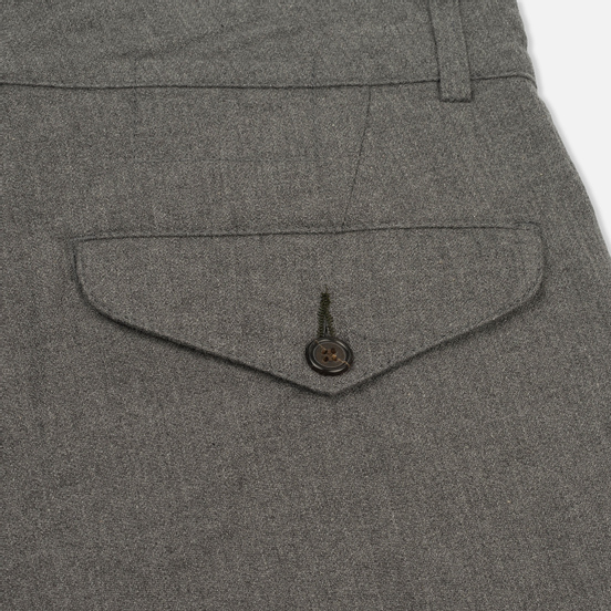 Мужские брюки Universal Works Aston Texture Cotton Grey