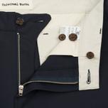 Мужские брюки Universal Works Aston Tropical Wool Navy фото- 3