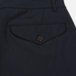 Мужские брюки Universal Works Aston Tropical Wool Navy фото- 4