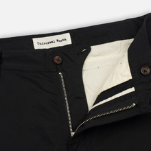 Мужские брюки Universal Works Aston Twill Black фото- 2