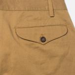 Мужские брюки Universal Works Aston Twill Camel фото- 3
