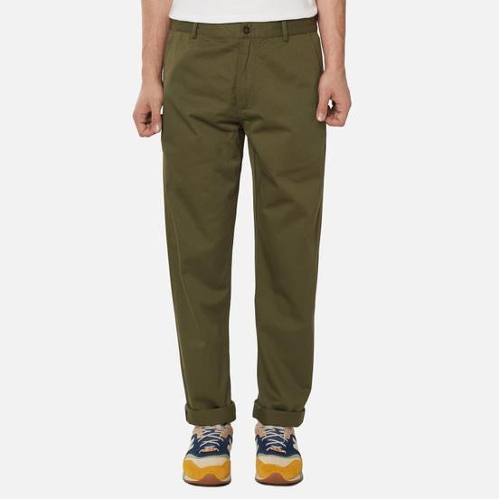 Мужские брюки Universal Works Aston Twill Light Olive