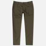 Мужские брюки Universal Works Aston Twill Military Olive фото- 0