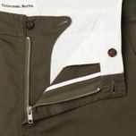 Мужские брюки Universal Works Aston Twill Military Olive фото- 1