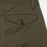 Мужские брюки Universal Works Aston Twill Military Olive фото- 3