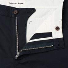 Мужские брюки Universal Works Aston Twill Navy фото- 1