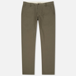 Мужские брюки Universal Works Aston Twill Olive фото- 0