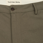 Мужские брюки Universal Works Aston Twill Olive фото- 2