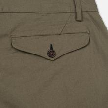 Мужские брюки Universal Works Aston Twill Olive фото- 4
