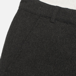 Мужские брюки Universal Works Aston Wool Charcoal фото- 2
