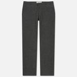 Мужские брюки Universal Works Aston Wool Marl Grey фото- 0