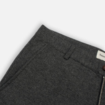 Мужские брюки Universal Works Aston Wool Marl Grey фото- 3