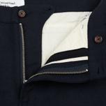 Мужские брюки Universal Works Aston Wool Marl Navy фото- 2