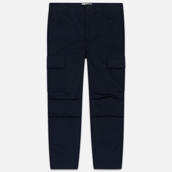Мужские брюки Universal Works Combat Twill Navy