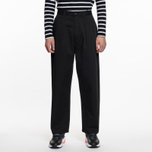 Мужские брюки Universal Works Double Pleat Twill Black фото- 5