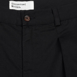 Мужские брюки Universal Works Double Pleat Twill Black фото- 1