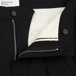Мужские брюки Universal Works Double Pleat Twill Black фото- 2
