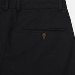 Мужские брюки Universal Works Double Pleat Twill Black фото- 4