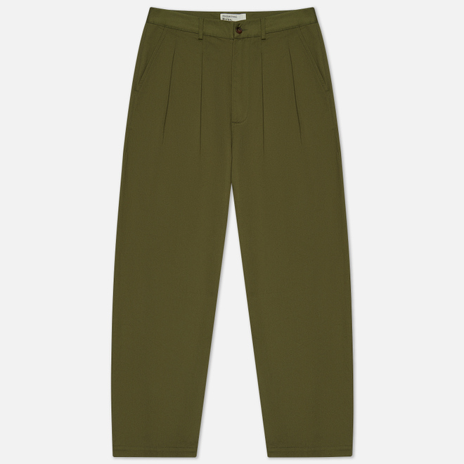 Мужские брюки Universal Works Double Pleat Twill Light Olive