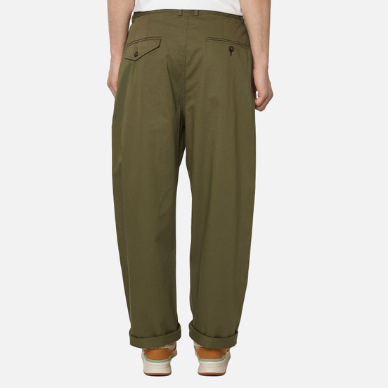 Мужские брюки Universal Works Double Pleat Twill Light Olive