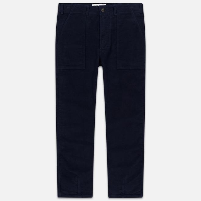 Мужские брюки Universal Works Fatigue Moleskin Navy