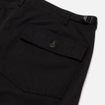 Мужские брюки Universal Works Fatigue Twill Black фото- 2