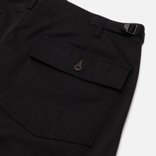 Мужские брюки Universal Works Fatigue Twill Black фото- 2