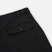 Мужские брюки Universal Works Fatigue Twill Black фото- 5