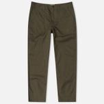 Мужские брюки Universal Works Fatigue Twill Military Olive фото- 0