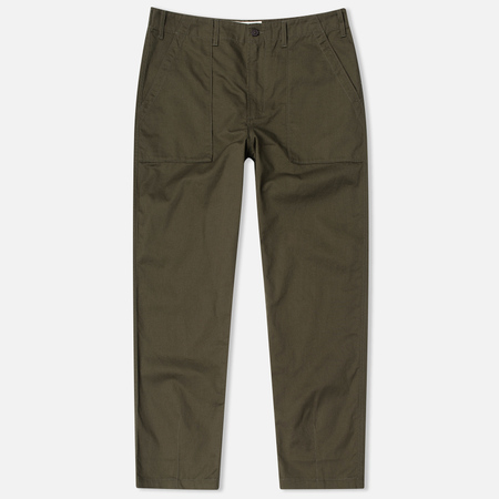 Universal Works Fatigue Twill Men's Trousers Military Olive