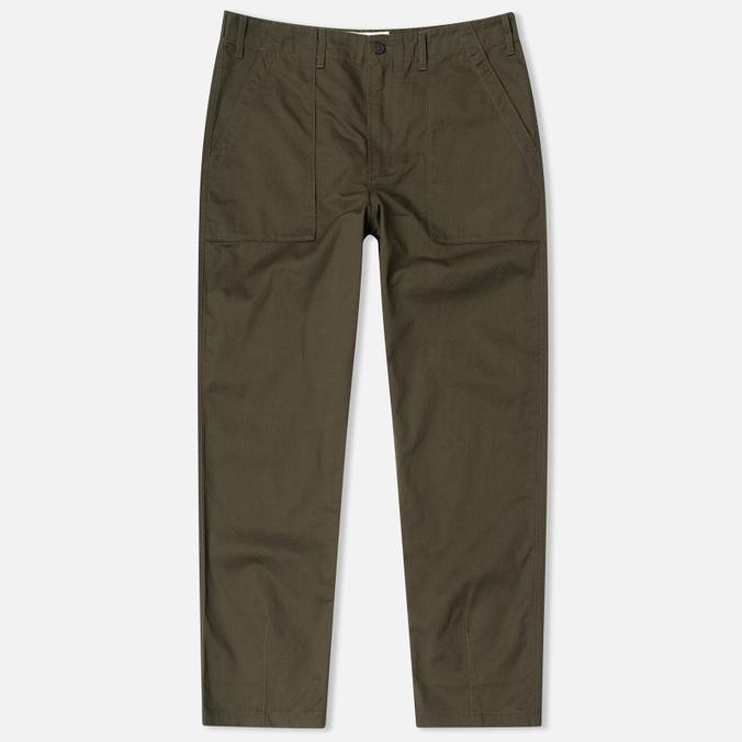 Мужские брюки Universal Works Fatigue Twill Military Olive