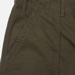 Мужские брюки Universal Works Fatigue Twill Military Olive фото- 2